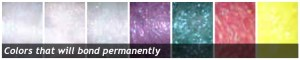 Permanent Bond - Crystal Metallic Blending Fibers