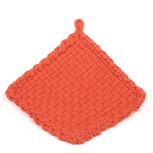 Orange Potholder