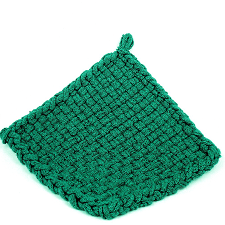 Peacock Potholder