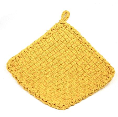 Yellow Potholder