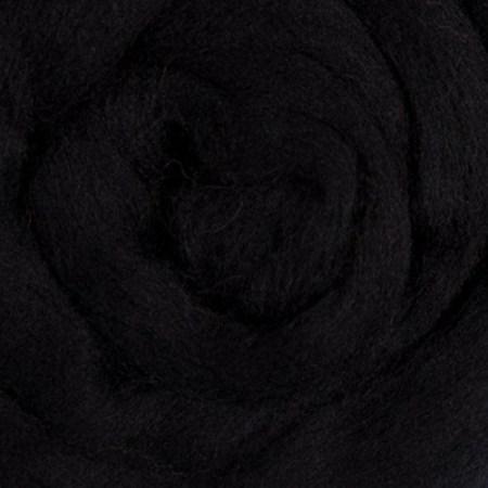 Black Merino Fiber