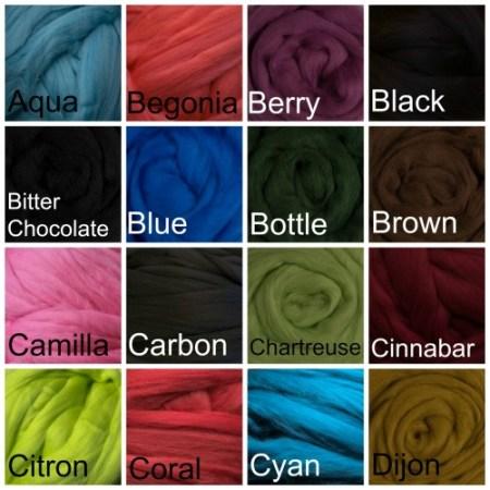 Merino Wool Fiber
