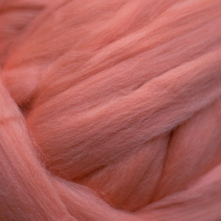 Salmon Merino Top