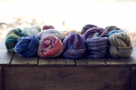 Merino Cultivated Silk Sampler