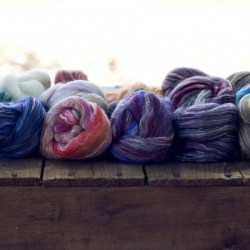 Merino Cultivated Silk Sampler