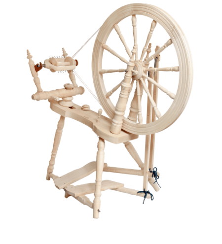 Symphony Spinning Wheel, Unfinished