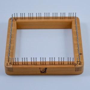 6x6 Blue Butterfly Pin Loom