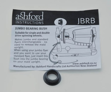 Ashford Jumbo Bearing for converting maiden to starndard flyer