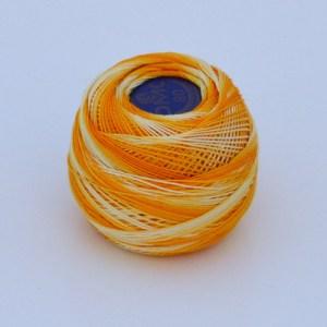 Variegated Golden Yellow 80 Tatting Thread