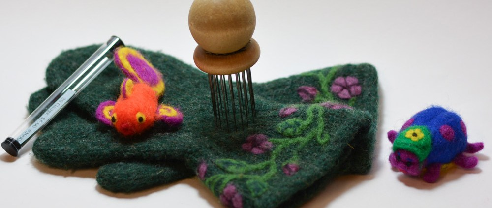 needle felting examples