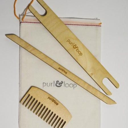 Purl & Loop Weaving Accessory Pack