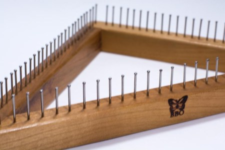 Triangle Weaving Loom