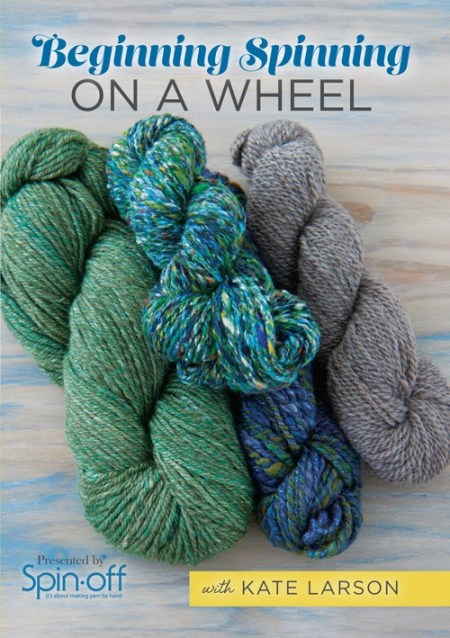 Beginning Spinning on a Wheel with Kate Larson
