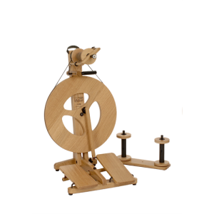 Louet Victoria Spinning Wheel in Oak