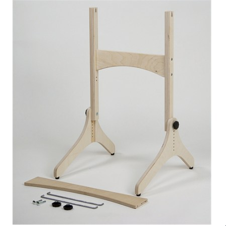 Loom stand fits both looms (comes with two cross bar sizes)