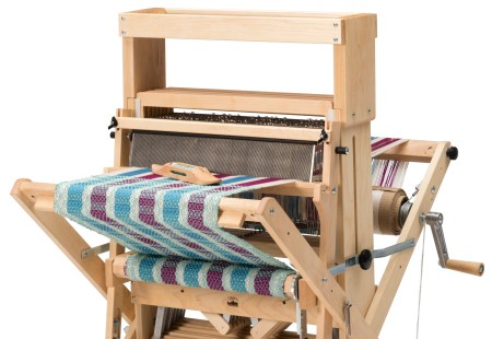 High Castle Tray shown on a Wolf Pup 8.10 Folding Loom