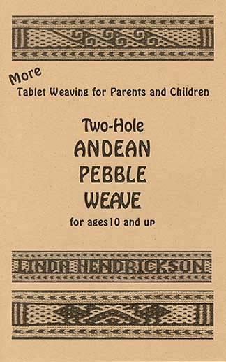 Two-Hole Andean Pebble Weave