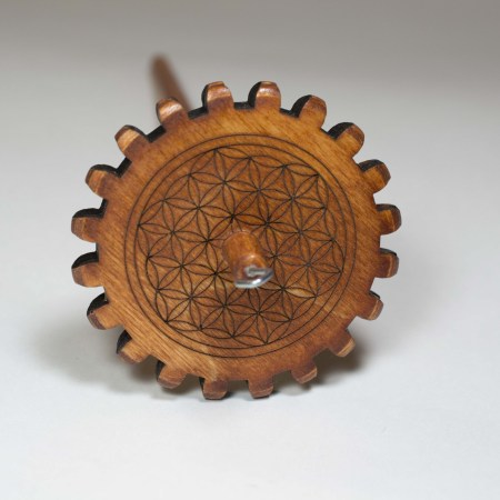 Flower of Life Snyder Gear Spindle