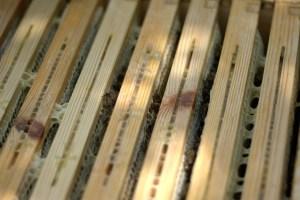 Cabezales de cuadros móviles,con paso de abejas