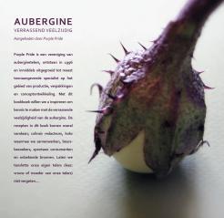 Pagina Aubergine Kookboek Purple Pride auberginetelers