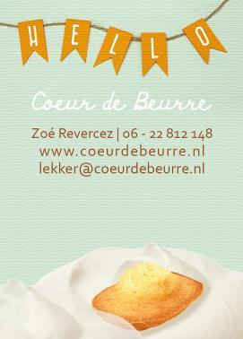 Tijdelijk visitekaartje Coeur de Beurre