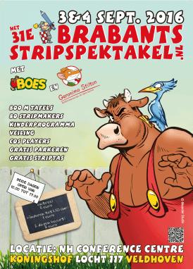 Posters Brabants Strip Spektakel