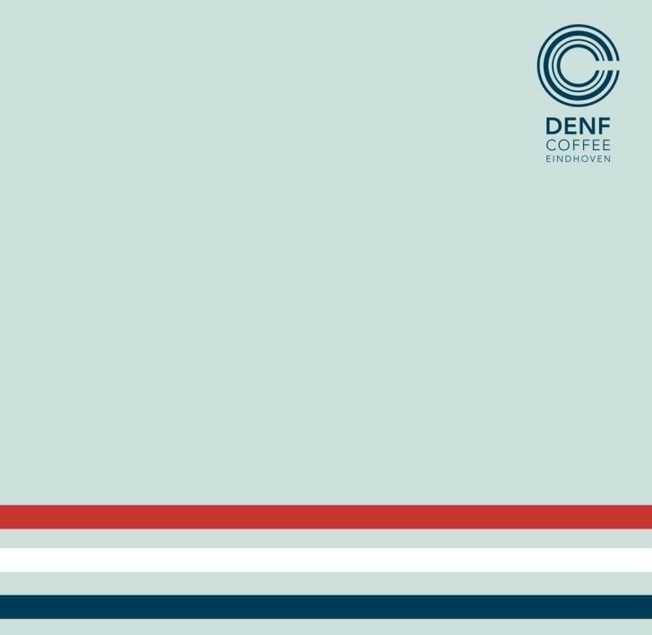 Cover menukaart DENF