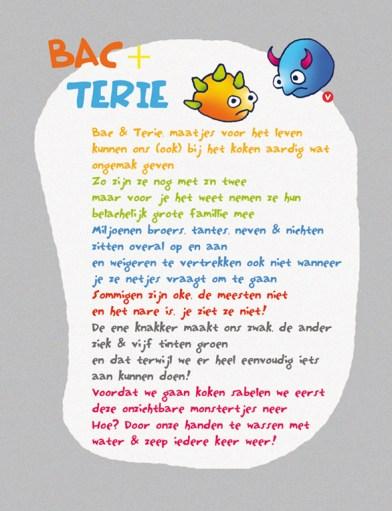 Gedicht voor kinderen over bacterieën GGD boekje