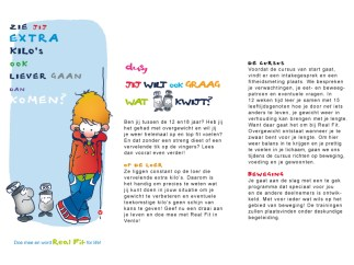 Folder Real Fit GGD | Tekst | Illustraties