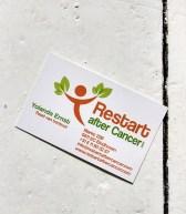 Visitekaartje | Stichting Restart after Cancer