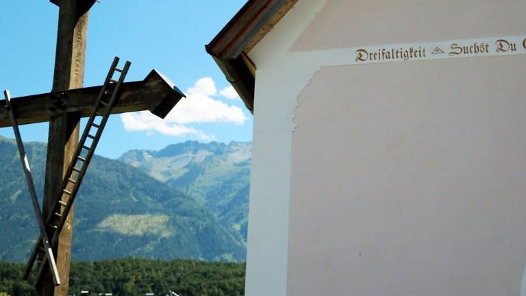 Die mehr als 400 Jahre alte baroke Kapelle in See ist ein Schmuckstück, Foto: Knut Kuckel