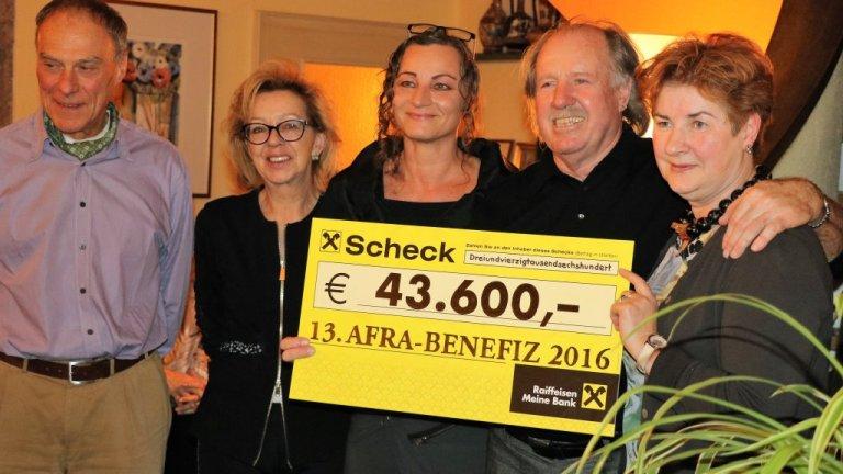 43.600 Euro für die Tiroler Frauenhäuser, Foto: Knut Kuckel