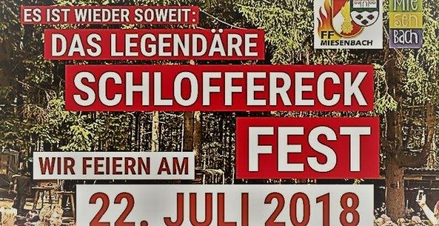 Schloffereckfest der FF Miesenbach