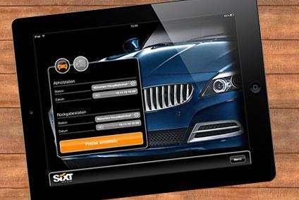 Mietwagen vom Handy buchen: Sixt-App überzeugt
