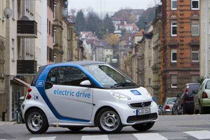 Smart electricdrive Car2Go WM Finale