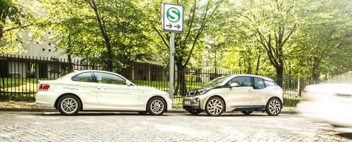 07 BMW ActiveE i3 DriveNow Berlin