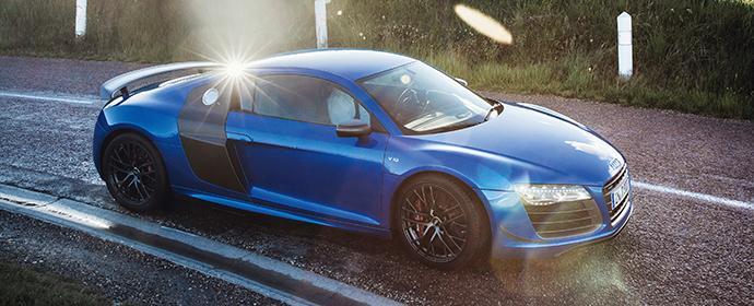 Audi R8 LMX Carsharing Schweden