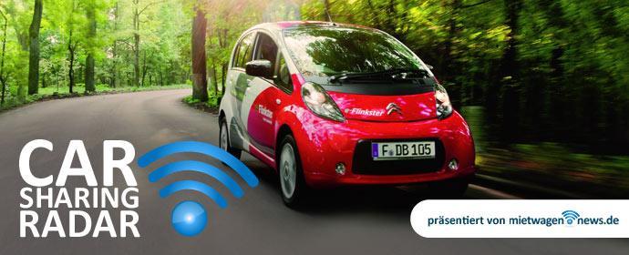 Carsharing-Radar - Flinkster weiter auf Erfolgskurs