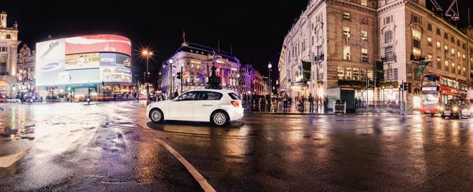 DriveNow Start in London mit zunächst 210 Autos (BMW 1er und Mini Countryman)