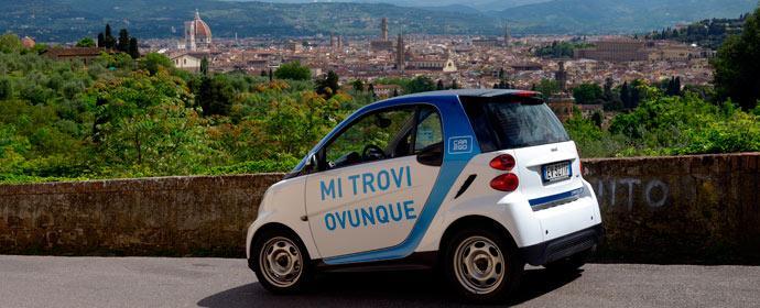 car2go macht in Florenz eine Million Mitglieder voll