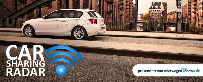 DriveNow im Fokus des Carsharing Radar in der KW 3