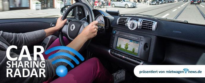Carsharing-Radar: Alternative zur Bahn wenn in den nächsten Tagen gestreikt wird