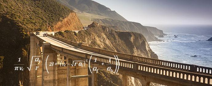 Nummer 2 laut der Avis-Formel für die beste Straße der Welt - der Highway Nr1 in den USA