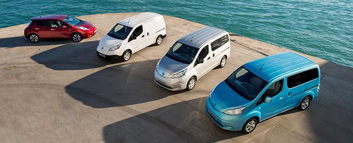 Avis kauft 461 Elektroautos - 60 Leaf und 401 e-NV200 für Dänemark