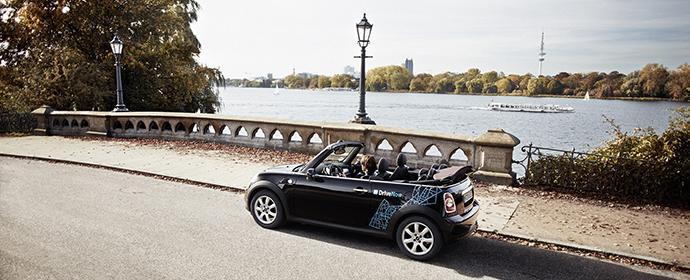 DriveNow in Hamburg: Trend zum Carsharing besonders in den Metropolen ungebrochen.
