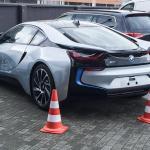 Der BMW i8 bei Sixt am Flughafen Frankfurt