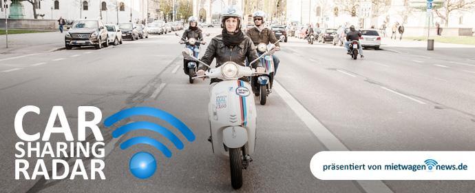Carsharing Radar warum Roller-fahren in der Stadt die schnellste Lösung ist