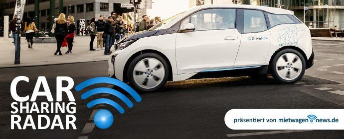 CarsharingRadar - DriveNow setzt Trends in Sachen eMobility