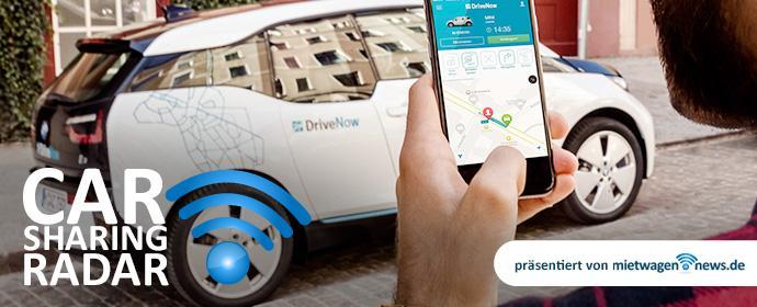 CarsharingRadar - DriveNow bringt die ersten vollelektrischen BMW i3 ins Geschäftsgebiet Rheinland