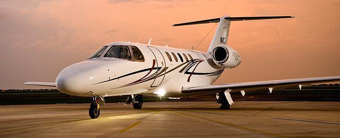 Sixt gründet eine Fluggesellschaft - Mit einer Cessna vom Typ Citation CJ4 fliegt der Vorstand regelmäßig in die USA